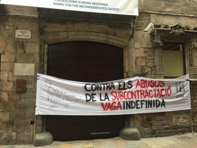 Vaga als museus de Barcelona