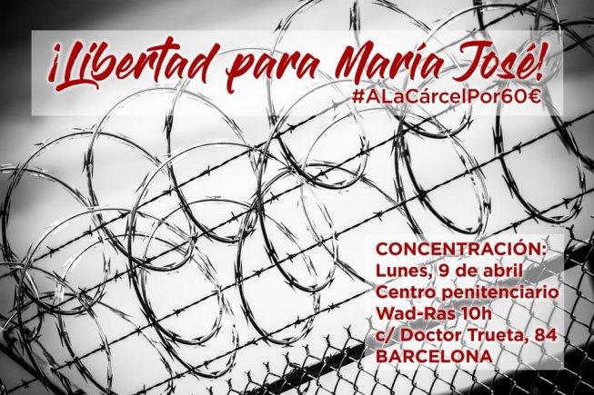María José Alarcón: a presó per no pagar una sanció de 60 euros