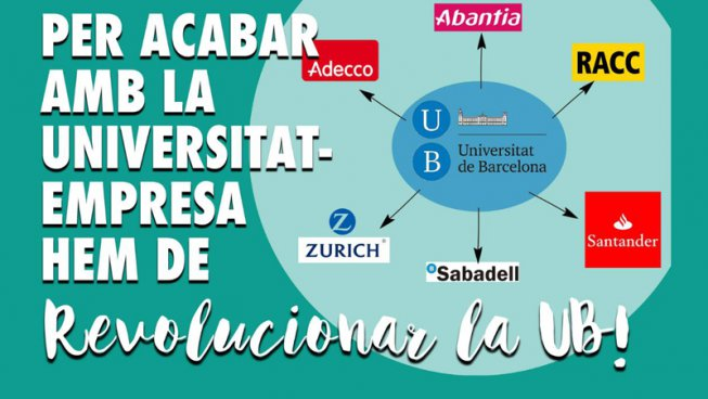 Revoluciona UB, la candidatura que declara la guerra a la universitat empresa