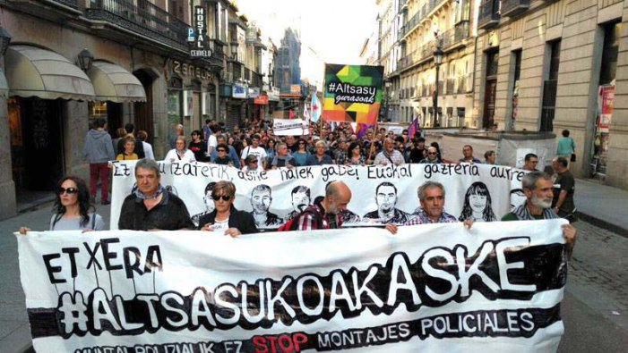 Infame condemna de l'Audiència Nacional als joves d'Alsasua
