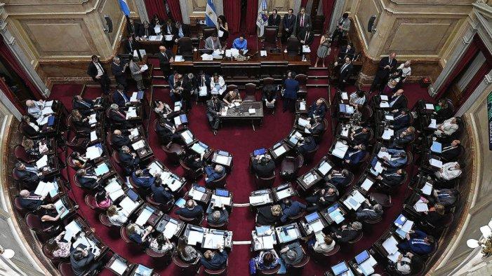 El Senat va votar en contra de la marea verda que va guanyar els carrers