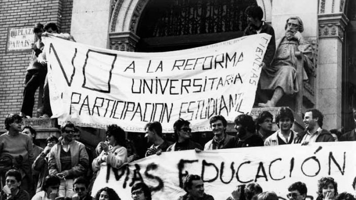 Pla Bolonya: moviment estudiantil i universitat de classe