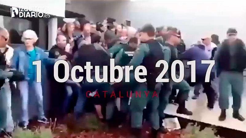 VIDEO | A 1 any de l'1-O #NiOblitNiPerdó