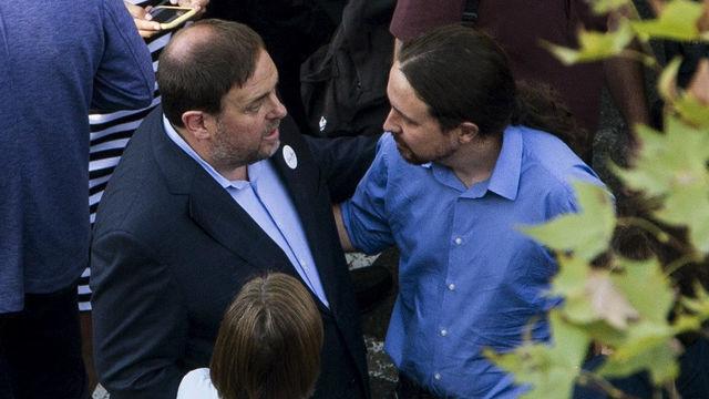 Iglesias demanarà a Junqueras que ERC sostingui el govern dels seus carcellers
