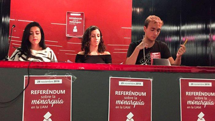 Estàs a favor d'abolir la Monarquia com a forma d'Estat i instaurar una República? La pregunta del referèndum de la UAM