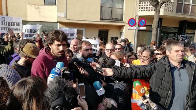 Nova jornada repressiva a Catalunya amb més d'una desena de detencions