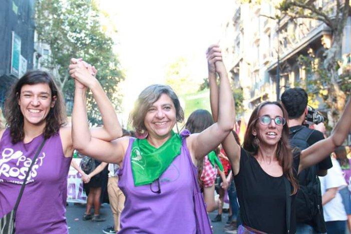 Andrea D'Atri, feminista revolucionària argentina, visita l'Estat espanyol