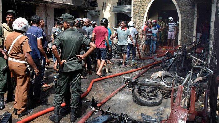 Sri Lanka: més de 290 morts després de vuit explosions en hotels i esglésies