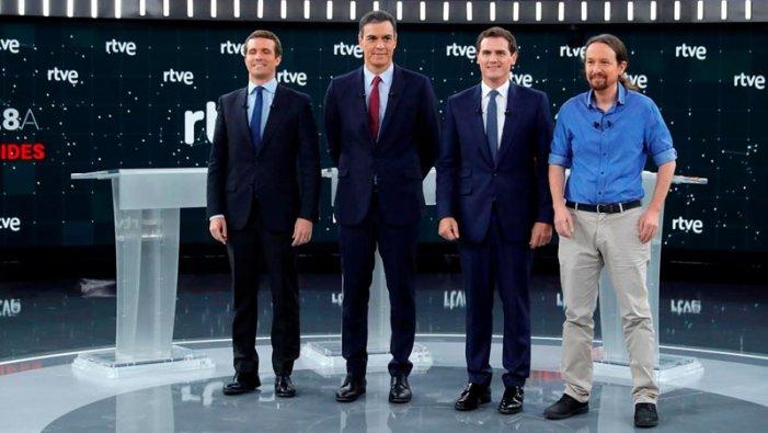 Debat electoral: Podemos darrere del PSOE i sota la Constitució del 78