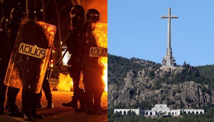 El Sánchez electoral, una d'exhumació i una altra de repressió