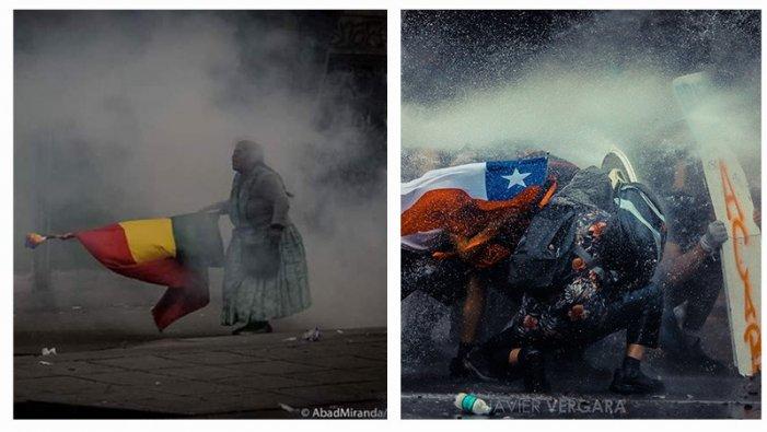 Torna a veure l'acte internacionalista d'Argentina #CHILEDESPERTÓ i contra el #GolpeEnBolivia