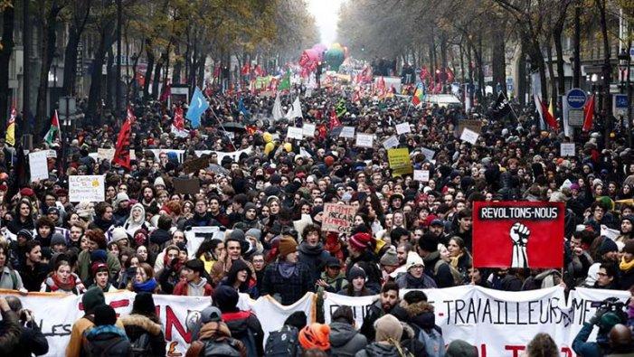 10D Gran Jornada de vaga i mobilitzacions a França