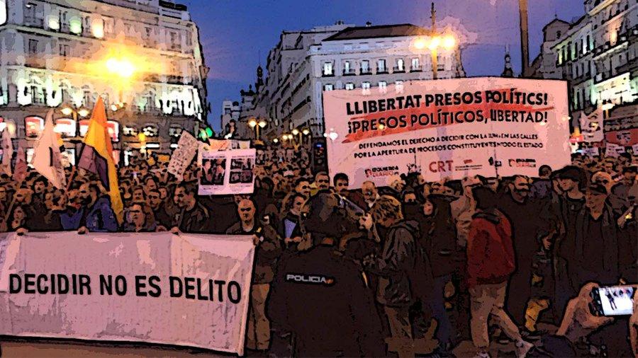 """""""Davant la integració de Podemos al règim imperialista espanyol, és urgent construir una esquerra revolucionària"""""""