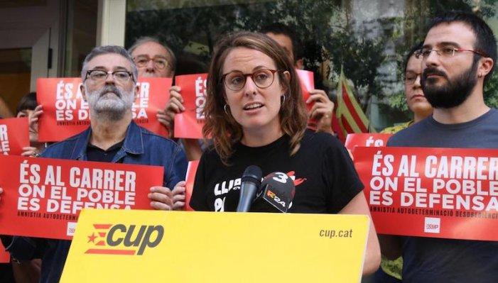 """CUP: """"L'imminent acord d'investidura suposa un retrocés pels drets dels pobles i les treballadores"""""""