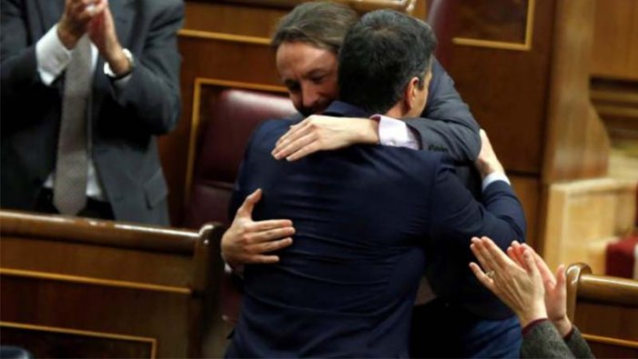 PSOE-Podemos, sense majoria absoluta, podrien formar govern dimarts que ve