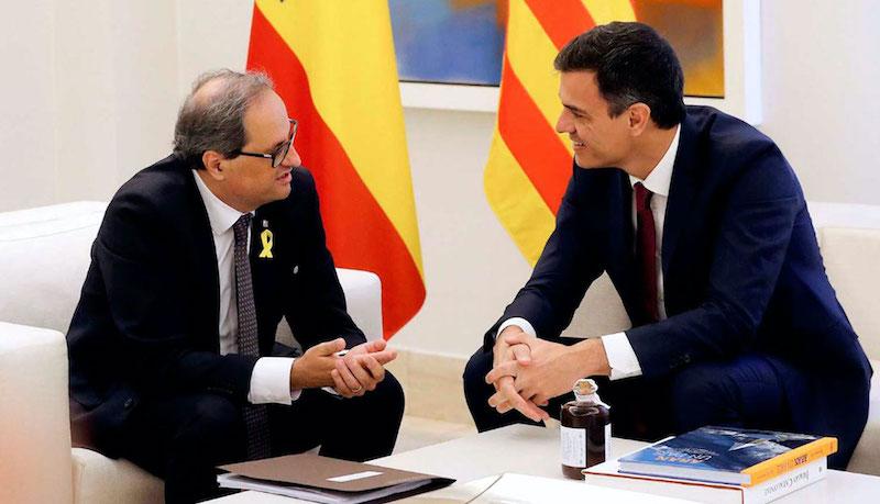 Govern central i Govern català preparen la taula de diàleg
