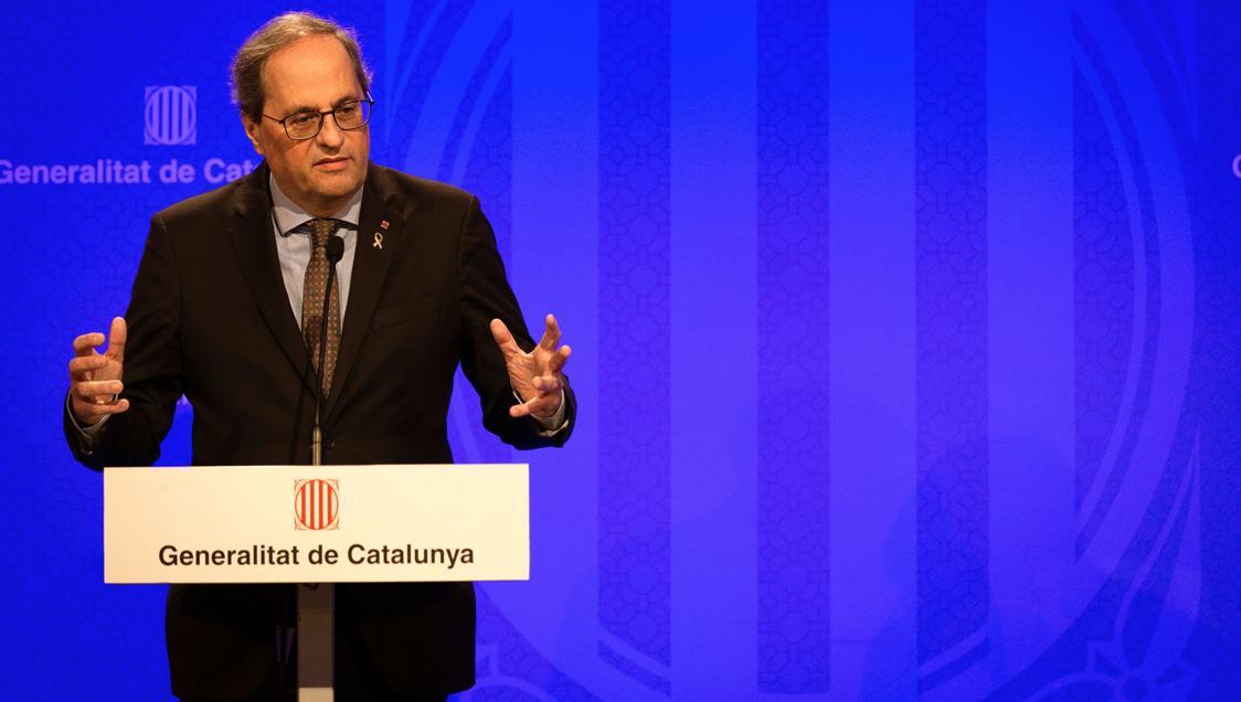 El Govern de la Generalitat anuncia el confinament de tota Catalunya