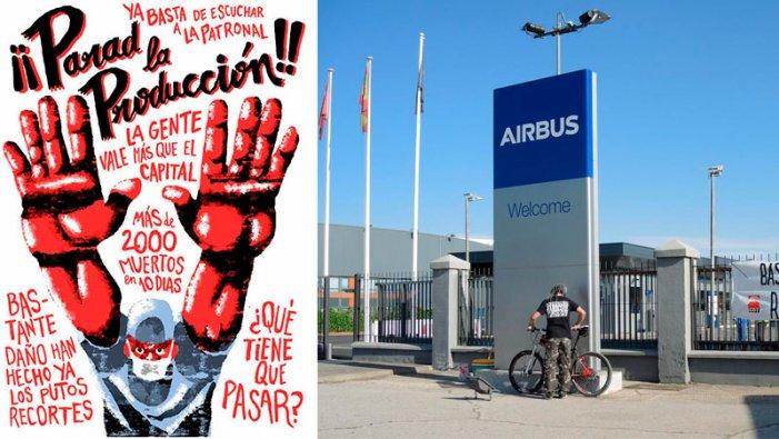 Airbus España: CGT convoca vaga indefinida davant la negativa de l'empresa a parar la producció