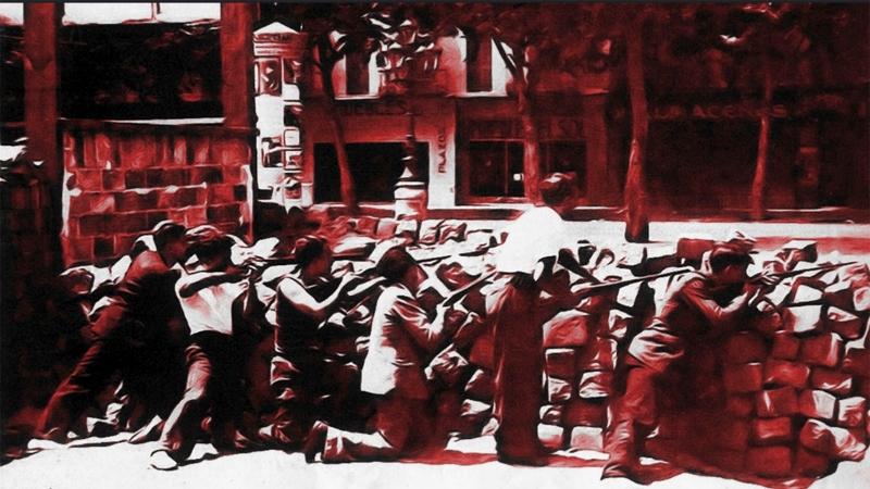 Maig del 37: quan Barcelona va estar sota control de la classe treballadora