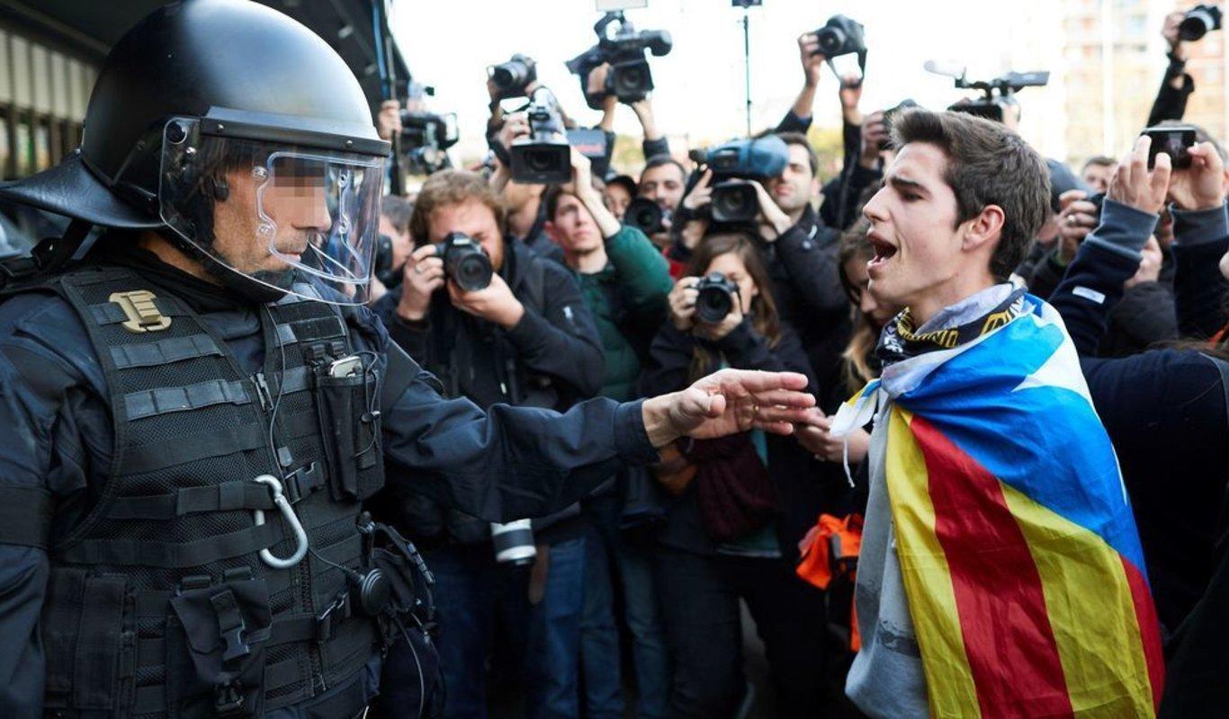 """La Policía Nacional no vol """"actuar"""" a Catalunya"""