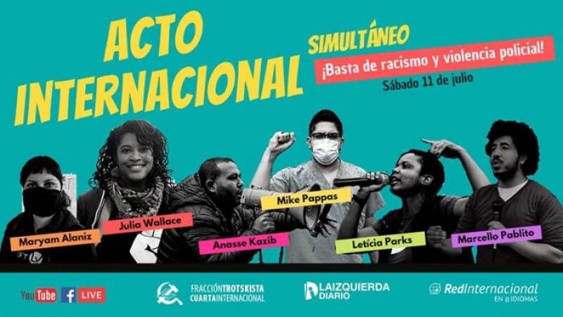 Acte internacional: sobren les raons per a cridar contra el racisme i la violència policial