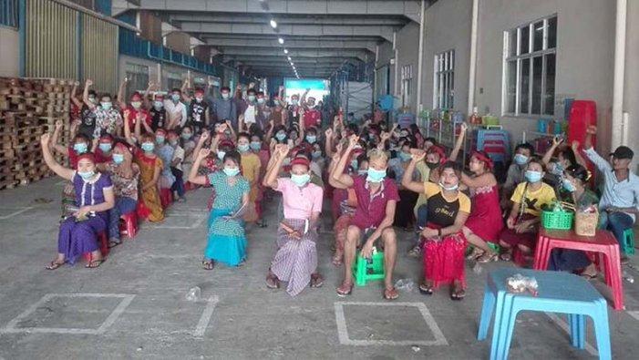 Treballadores que fan roba per a Zara a Myanmar guanyen la readmissió després de mesos de lluita