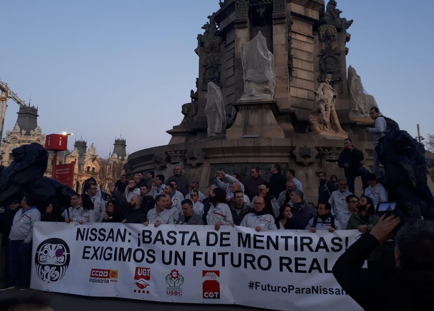 El despotisme d'empresa de Nissan i el seu ultimàtum contra la plantilla