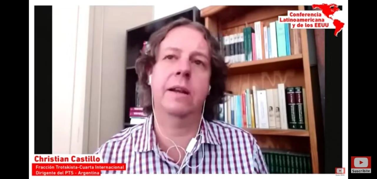 """Christian Castillo: """"El desafiament és construir partits revolucionaris i la IV Internacional"""""""