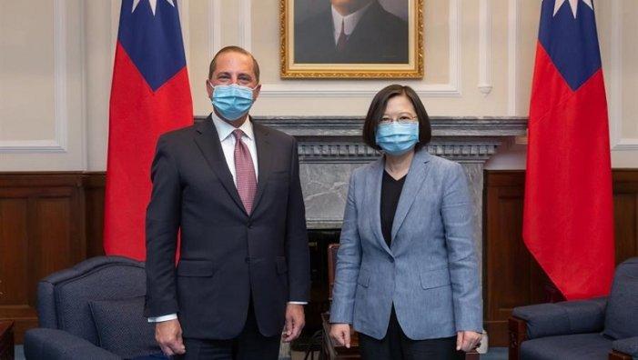 Històrica visita d'un funcionari dels EUA a Taiwan aprofundeix la tensió amb la Xina