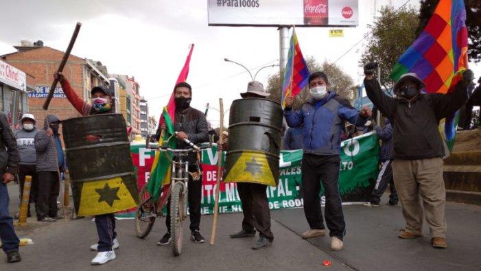 La mobilització a El Alto i la falsa campanya d'Áñez contra els bloquejos