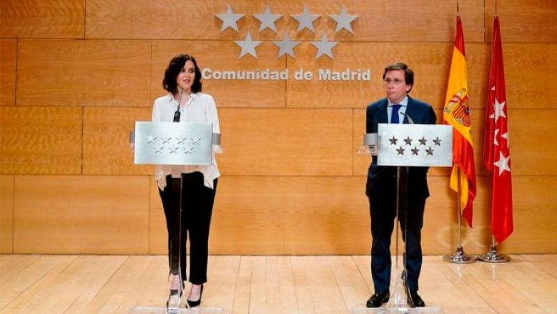 """El """"confinament selectiu"""" d'Ayuso a Madrid: un confinament de classe"""