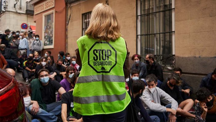 El Govern central no frena l'onada de desnonaments en plena pandèmia