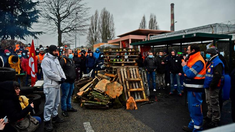França: la lluita testimoni dels petroliers de Grandpuits i els seus protagonistes
