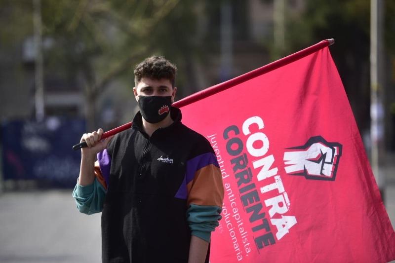"""Pablo Castilla: """"convertim la ràbia de la joventut en organització per a construir un gran moviment antimonàrquic"""""""