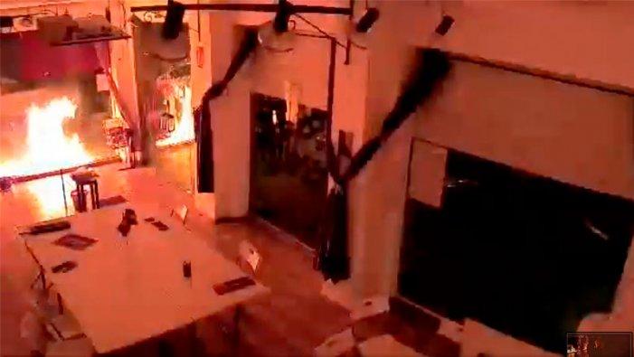 Ampli repudi a l'atac amb material explosiu a la seu de Podemos a Cartagena