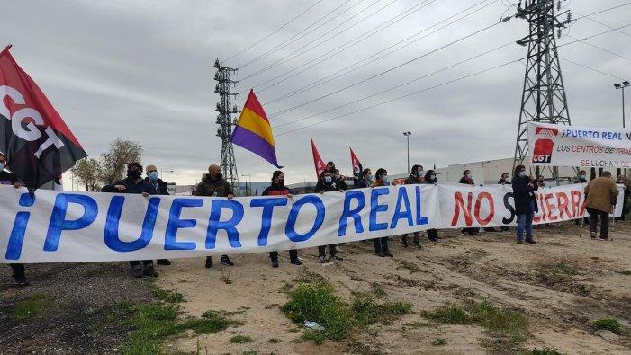 Escandalós!: el govern impedeix a 23 sindicalistes de CGT acudir a Getafe per a protestar contra el tancament d'Airbus Puerto Real