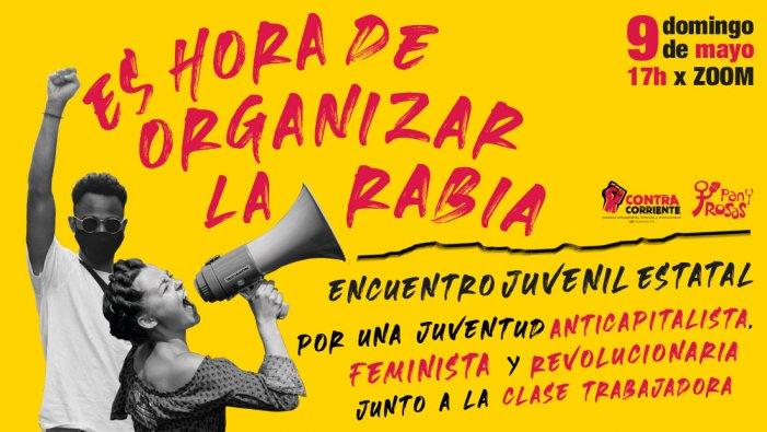 En les feines també cal organitzar la ràbia: Participa de la trobada estatal al costat de Contracorrent i Pan y Rosas!