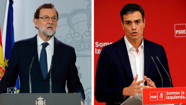 Rajoy activa amb suport del PSOE els mecanismes per aplicar el 155 a Catalunya