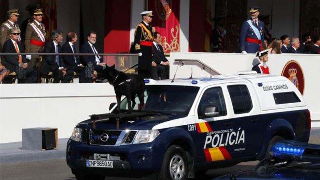 12-O: l'Estat espanyol exhibeix la seva força com una amenaça contra Catalunya