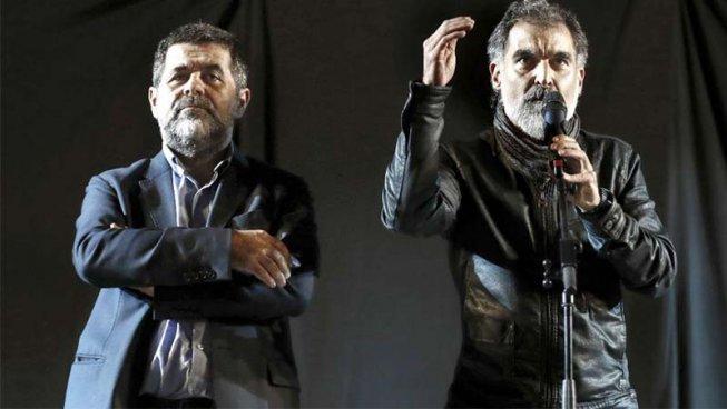 Llibertat immediata per Jordi Sánchez i Jordi Cuixart!