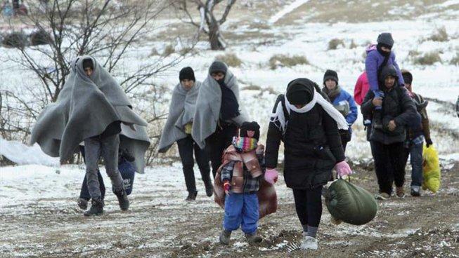 Nadal a l'infern: els refugiats a Europa