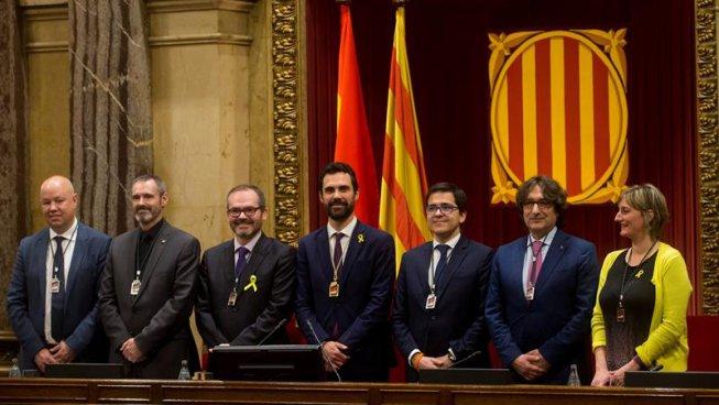 El bloc independentista aconsegueix la majoria en la Mesa del Parlament