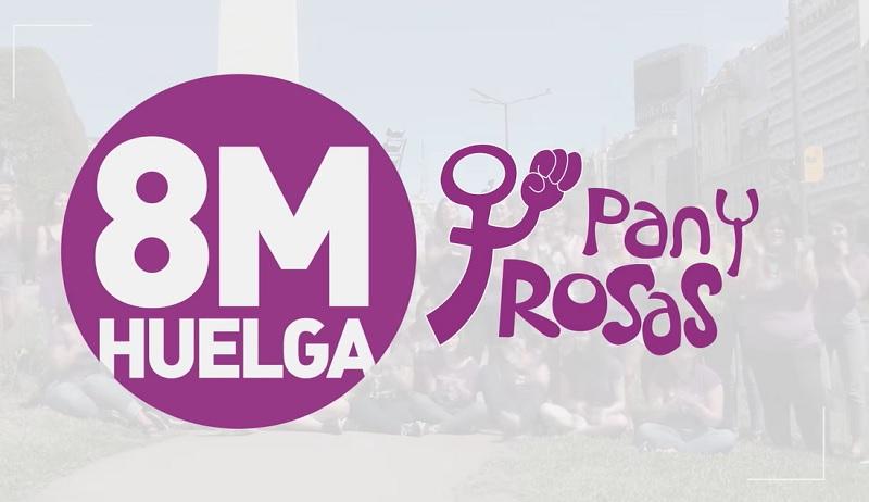[VIDEO] Pan y Rosas: suma't a l'Aturada Internacional de Dones