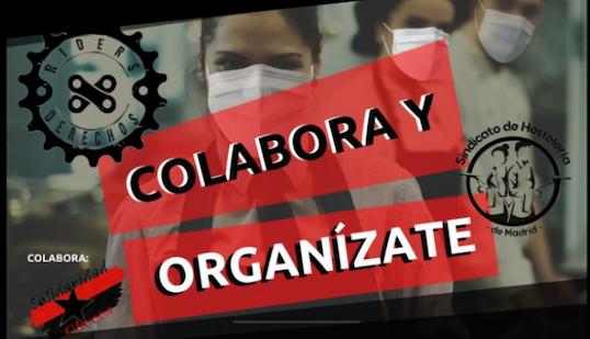 """[VIDEO] Caixa de Resistència de Riders i Hostaleria: """"Els acomiadaments estan a l'ordre del dia"""""""