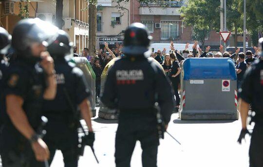 Noves carregues policials i detinguts per part dels Mossos a Horta